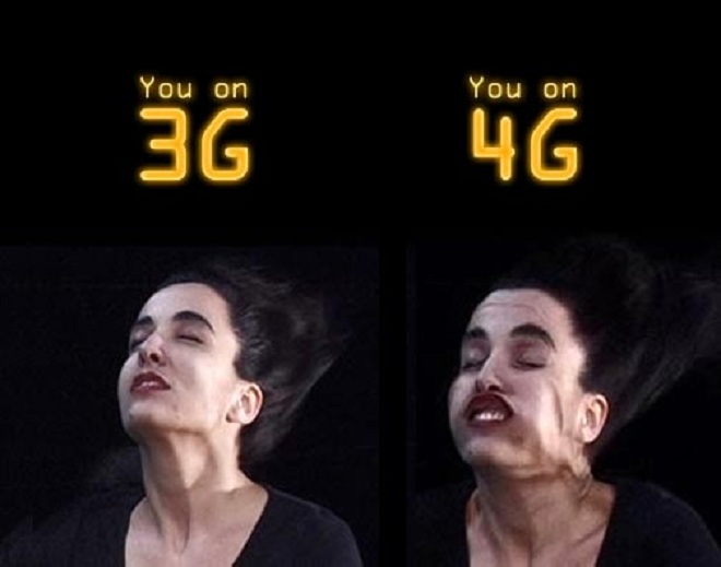a Comparison of 3G and 4G
